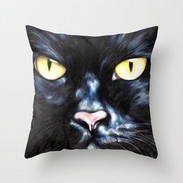 I am Night Throw Pillow