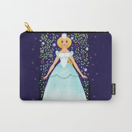 The Winter Fairy Brings The First Frost Carry-All Pouch