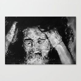 Wather, my old friend Canvas Print