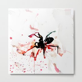 Murder Spider The Nth Metal Print