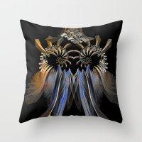 transformer Throw Pillows featuring Transformer by Brian Raggatt