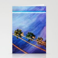 palms Stationery Cards featuring Palms by Psocy Shop