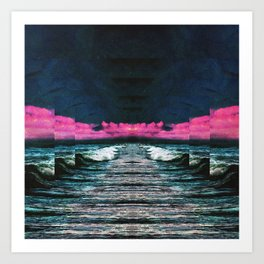 Mouth Of The Ocean Art Print