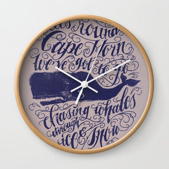 Cape Horn Wall Clock