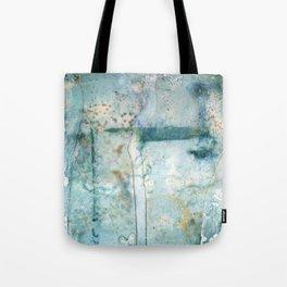 Water Damaged Tote Bag