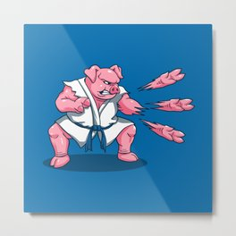 Pork Chops Metal Print