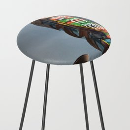 Shanghai 七 Counter Stool