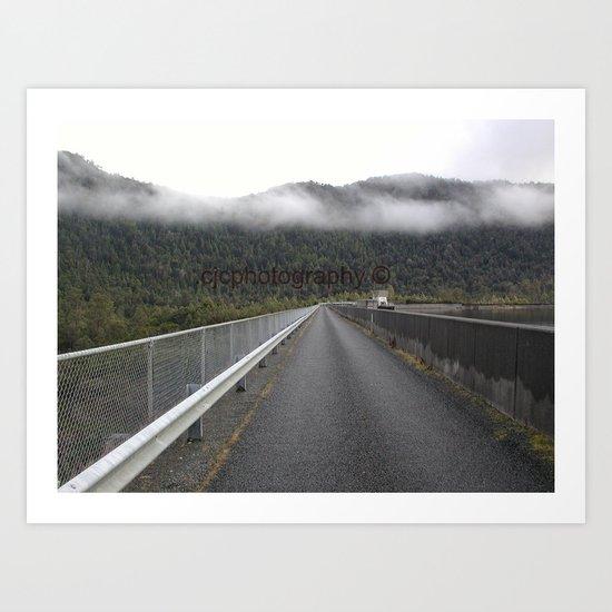 MacIntosh Dam Art Print
