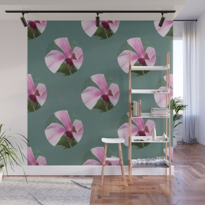 magnolia in the limelight Wall Mural
