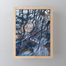 floating trees 1 Framed Mini Art Print