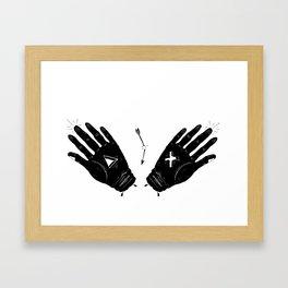 Cut-Offs Framed Art Print