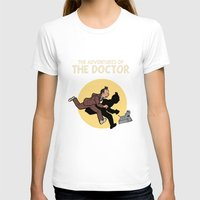 tintin T-shirts featuring The Adventures Of The Doctor by Deborah Picher Illustrations