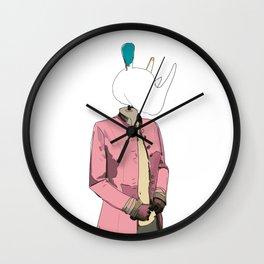 Rhino Couture Wall Clock