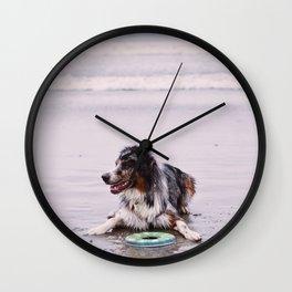 Coronado Dog Beach Wall Clock