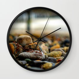Sand Pebbles Wall Clock