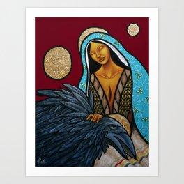 Lay Down Your Burdens Art Print