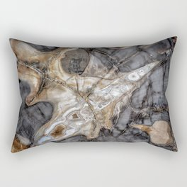 Petrified wood 3264 Rectangular Pillow