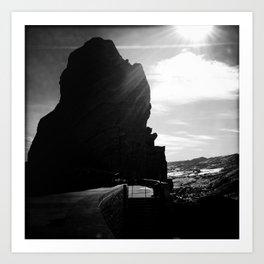 Red Rocks Sundown Art Print