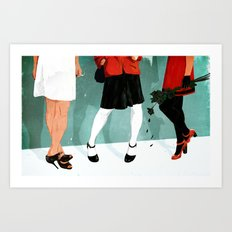 Three Marlenas Art Print