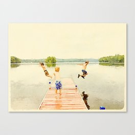 Boys of Summer Canvas Print