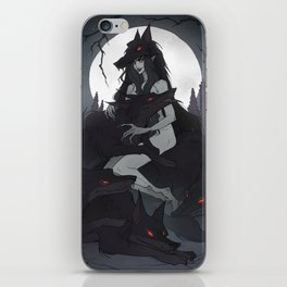 Night of the Werewolves iPhone Skin