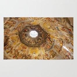 Brunelleschi Cupola in Florence Rug