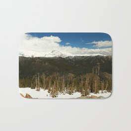 Mountianscape In The Rockies Bath Mat