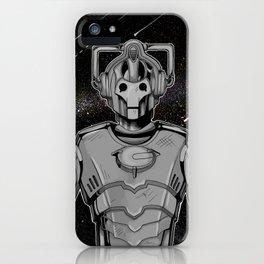 Cyberman iPhone Case