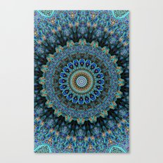 Spiral Eye Canvas Print