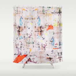 Lick wall Shower Curtain