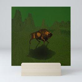 Bison Mini Art Print