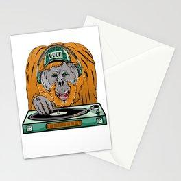 Orangutan Turntable Stationery Cards