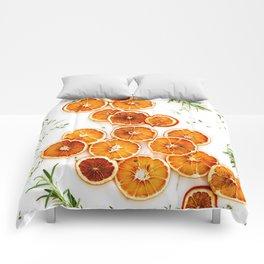 Pure Citrus (Color) Comforters
