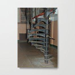 Alcatraz Stairs Metal Print
