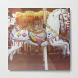 le petit cheval blanc Metal Print
