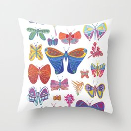 Little Souls Throw Pillow