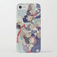 haikyuu iPhone & iPod Cases featuring Haikyuu!! by x3uu