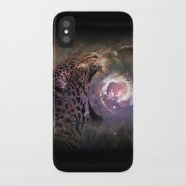 Jaguar Nebula iPhone Case