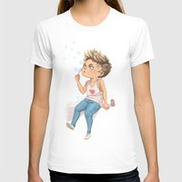 niall T-shirts featuring Bubble Niall by RockitRocket