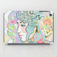 shabby chic iPad Cases featuring Shabby Chic by Thea Maia