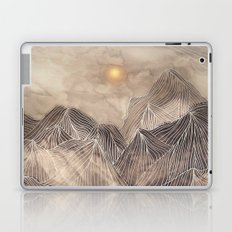 Lines in the mountains XII Laptop & iPad Skin