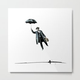 My dream is to fly over the rainbow so high Metal Print