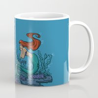 hallion Mugs featuring Part of Every World by Karen Hallion Illustrations