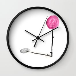 There Are no Trees like Lollipop Wall Clock