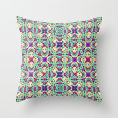 Purple Cave 4 SW Throw Pillow