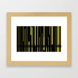 YellA=JacKeT Framed Art Print