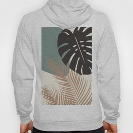 Minimal Monstera Palm Finesse #1 #tropical #decor #art #society6 Hoody