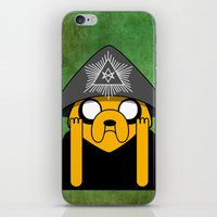 crowley iPhone & iPod Skins featuring Jake Crowley by Conversa entre Adeptus