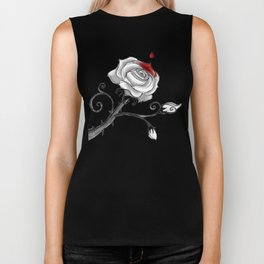 'Painting The Roses Red...' Biker Tank