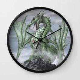 Misty Mountain Wall Clock